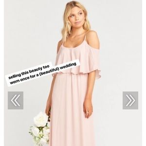"Show Me Your Mumu bridesmaid dress ""Caitlin"""